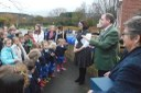 MP Opens Okeford's Outdoor Area